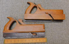 Matched 7/8 Handled Tongue & Groove Molding Planes