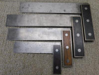 4 D. B. & S. Rosewood Handle Machinist Squares