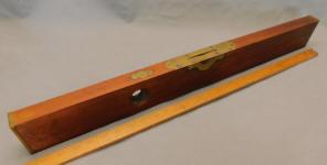 Davis No. 10 28 Inch 1867 Patent Wooden Level