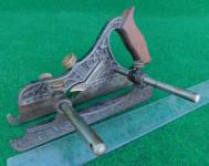 Stanley Miller Patent# 43 Cast Iron PlowPlane