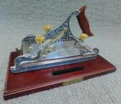 Stanley Miller PatentCast Iron PlowPlane (Franklin Mint Repop)