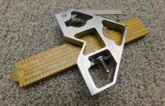 Boye Handy Rule Tool w/ Stanley 163 Folding Rule