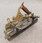 Stanley Miller Patent# 42 Bronze / Gunmetal Plow Plane w/ Fillister
