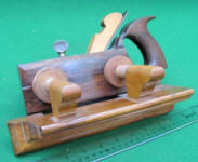 Rosewood and Boxwood Handled Plow Plane