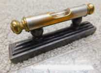Athol Machine or Standard Tool Co Pedestal Pocket & Square Level