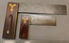 2 Rosewood Handle Try Squares