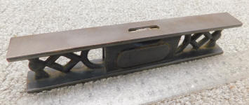 Fitchburg- Webb Patent 9 Inch Cast Iron Level