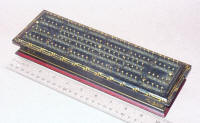 Gill Patent Cribbage Board