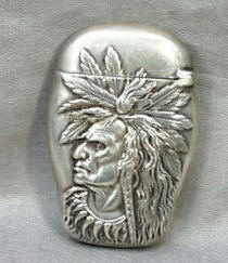 Sterling Silver Indian Head