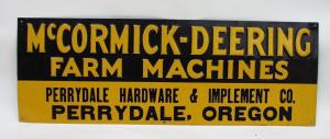 McCormick-Derring  Tin Sign