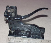 Brown 1887 Patent Stapler