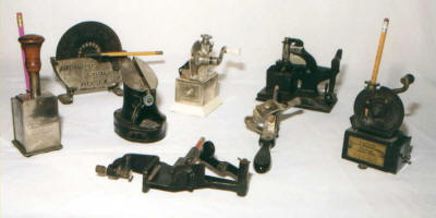 Antique Pencil Sharpeners