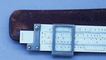 K & E Slide Rule w/ Clamshell Cursor