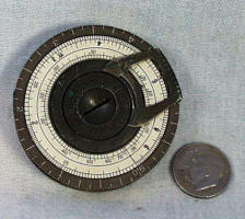 """Small"" Pocket Calculator / Slide Rule"