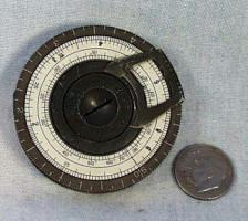 """Small"" Pocket Calculator / Slide Rule"