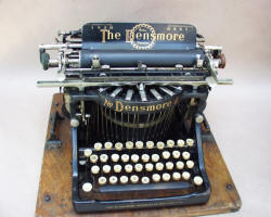 The Densmore Upstroke Typewriter