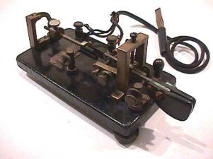 vibro plex telegraph key