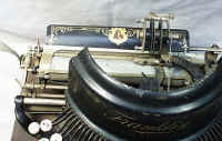 The Franklin #7 Typewriter