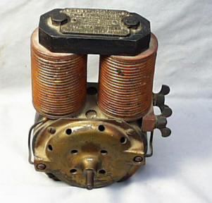 Patented 19th Century Electric Motor