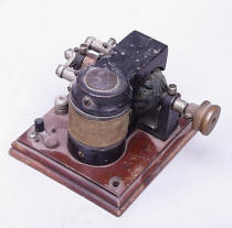 Antique  Open Frame Electric Motor