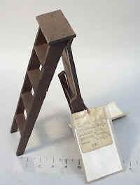 1880 Patent Model Ironing Board / Ladder