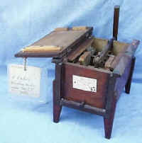 1865 Patent Model Washing Machine