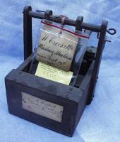 1871 Crockett Patent Model Washing Machine