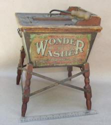 """Salesman Sample """"Wonder Washer"""" Patented 1904"""