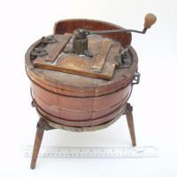 Salesman  Sample / Patent Model or Toy Wooden Washing Machine