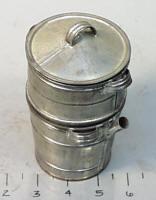 Antique Salesman Sample Double Boiler / Cooking Pot