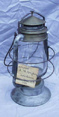 Orpoy Patent Model Lantern