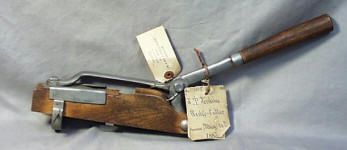 Patent Model of Wedge Cutter