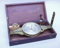 Antique 19th Century Surveying Compass