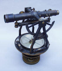 W. & L. E Gurley #16 Surveyor's / Engineers Transit