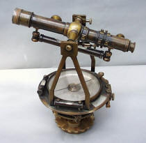 W. & L. E Gurley #76 Surveyor's / Architects Transit