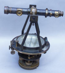 W. & L. E Gurley #12 Engineers Transit