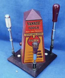 Yankee North Brothers Screwdriver Display