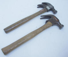 2 Double Claw Hammers
