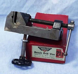 Millers Falls #217 Machinist Vise in Original Box