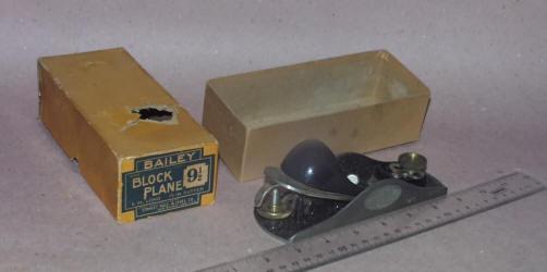 Stanley # 9 1/2 Block Plane in Original Box