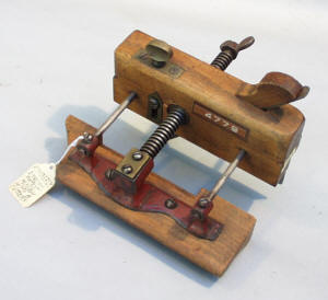 Kimberly Patent Handled 3 Arm English Plow Plane