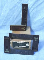 3 Stanley # 12 Squares in Original Box
