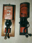 2 litho advertising coffee grinders