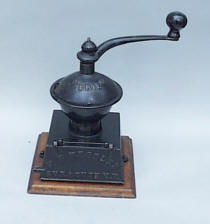 Erie   Lap Mill Style Cast Iron Coffee Grinder