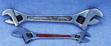 double head crescent wrench