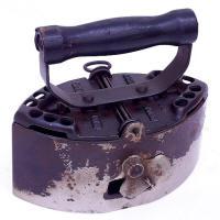 Finn Patent Charcoal Iron