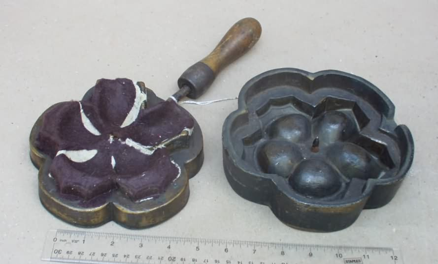 Tools for making silk flowers gallery flower decoration ideas antiqbuyer flower irons past sales results archive large silk flower iron leaf iron mightylinksfo mightylinksfo