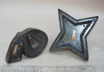 Antique Flower Iron Cutters