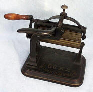 Susan  R. Knox Patent Machine Fluter