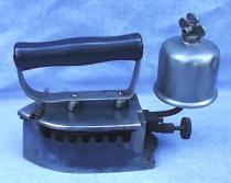 Gas Iron with Bell Shaped Tank